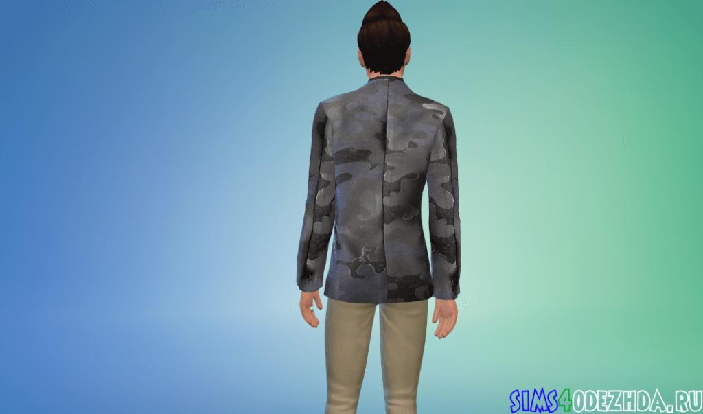Мужской жаккардовый пиджак - фото 3