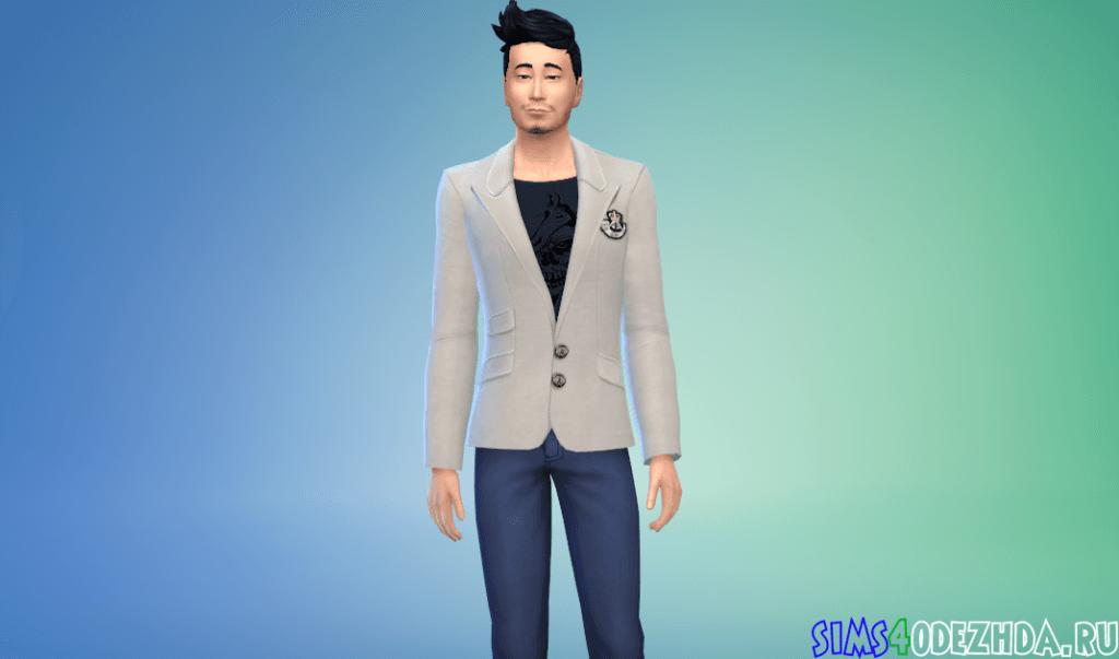 Мужской клубный пиджак - фото 3
