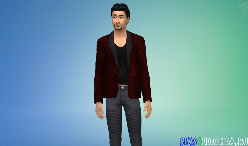 Мужской праздничный пиджак - фото 3
