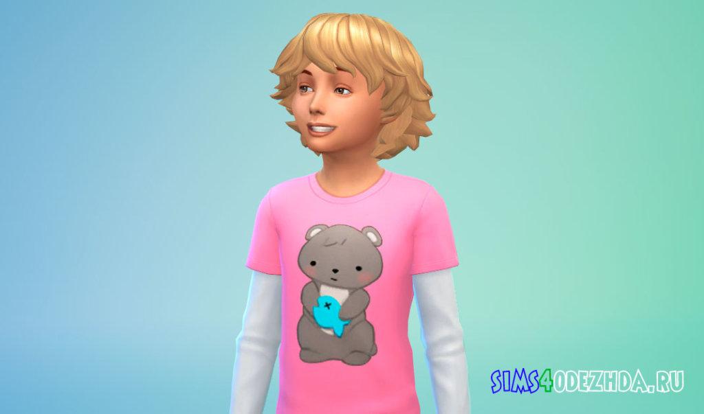 Объемные волосы для мальчиков Симс 4 - фото 1