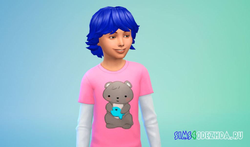 Объемные волосы для мальчиков Симс 4 - фото 2