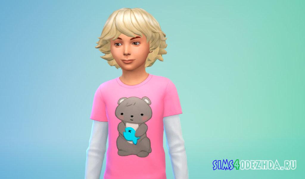 Объемные волосы для мальчиков Симс 4 - фото 3