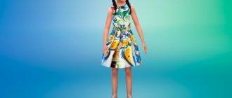 Платье с цветочным принтом Симс 4 - фото 1