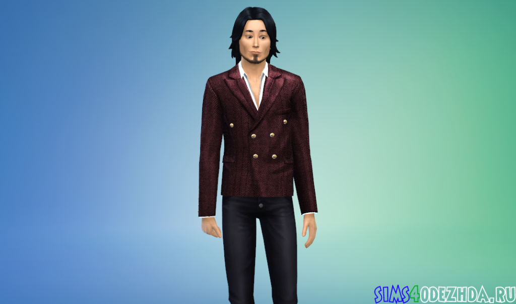 Праздничный элегантный пиджак - фото 2