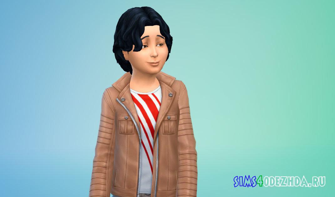 Прическа со вьющимися волосами Симс 4 - фото 1