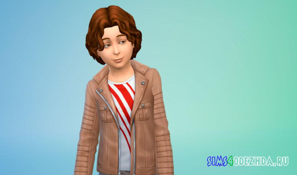 Прическа со вьющимися волосами Симс 4 - фото 2