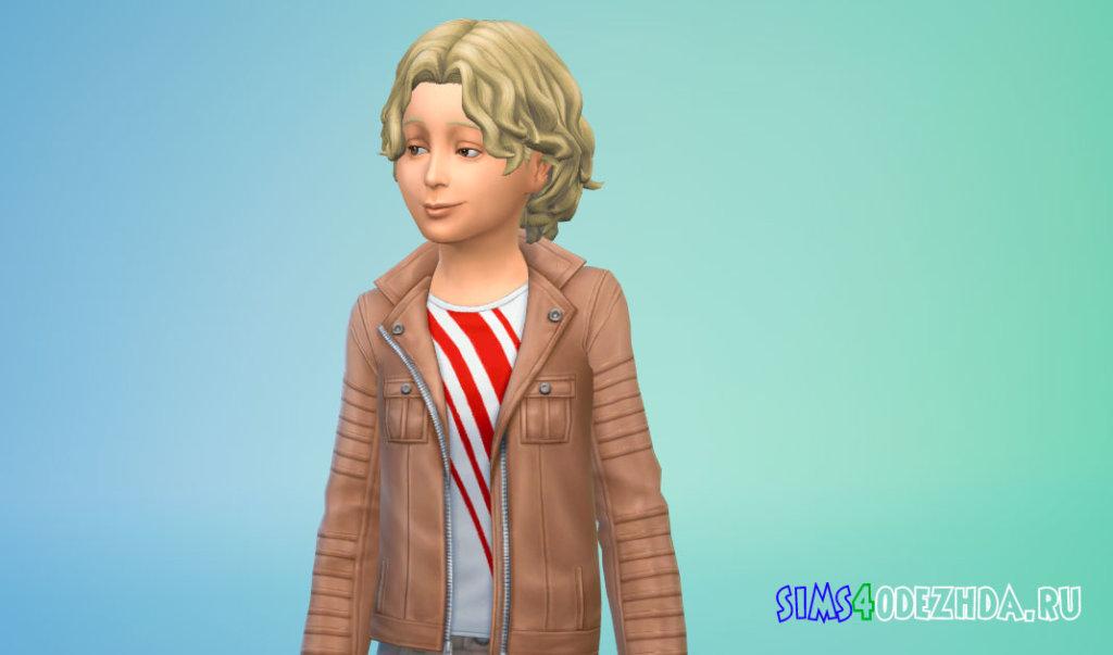 Прическа со вьющимися волосами Симс 4 - фото 3