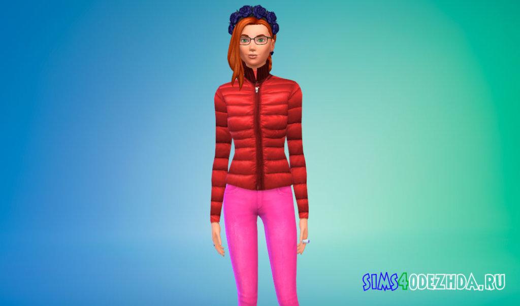 Пуховая зимняя куртка Симс 4 - фото 2