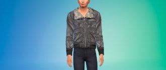 Стильная мужская зимняя куртка Симс 4 - фото 1