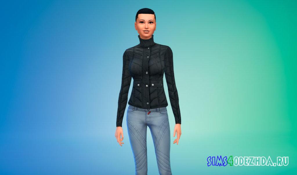 Стильный женский пуховик Симс 4 - фото 2