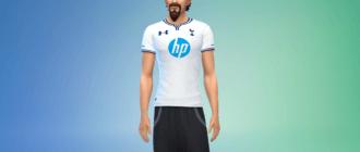 Футбольная форма Tottenham Hotpurs Симс 4 - фото 1
