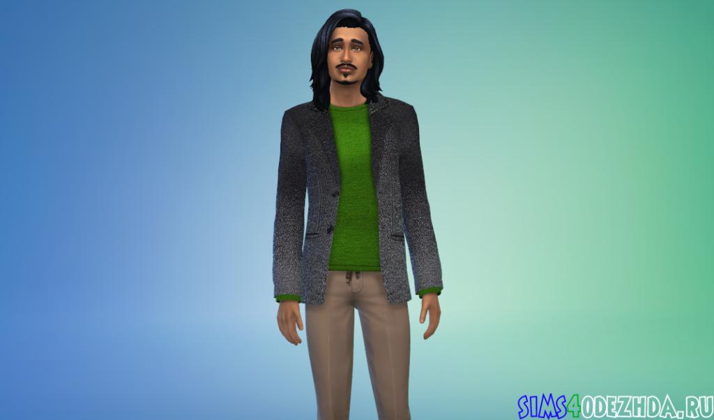 Шерстяной пиджак - фото 2