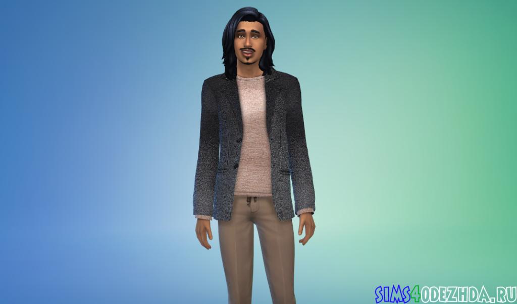 Шерстяной пиджак - фото 3