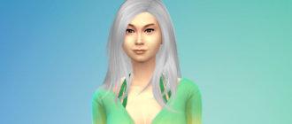 Длинные волосы для женщин для Симс 4 - фото 1
