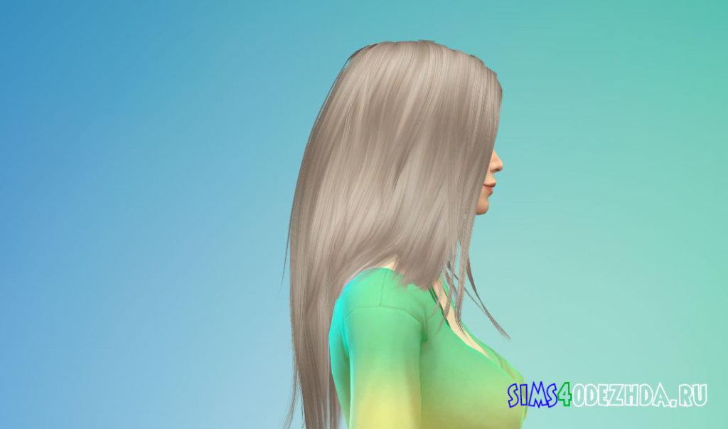 Длинные волосы для женщин для Симс 4 - фото 2