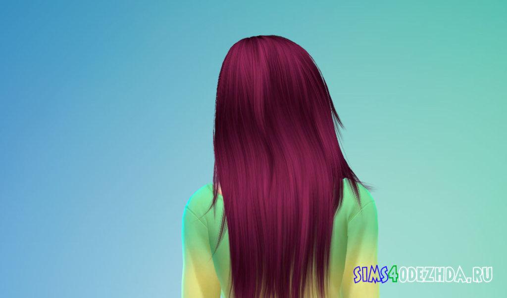 Длинные волосы для женщин для Симс 4 - фото 3