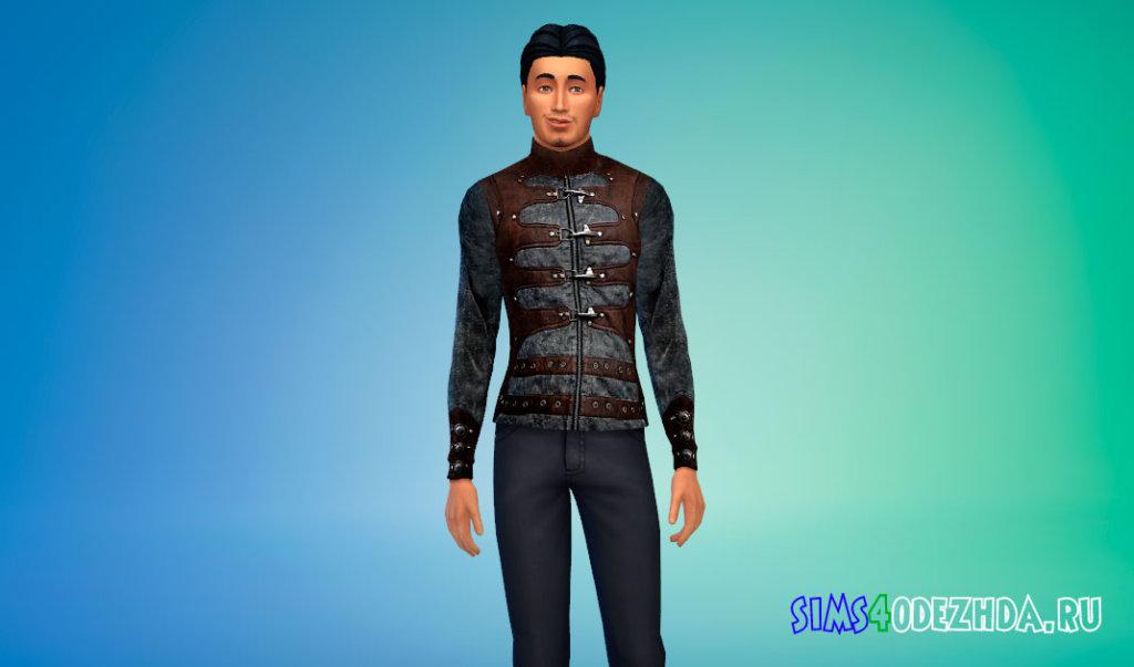 Крутая мужская куртка для Симс 4 - фото 1