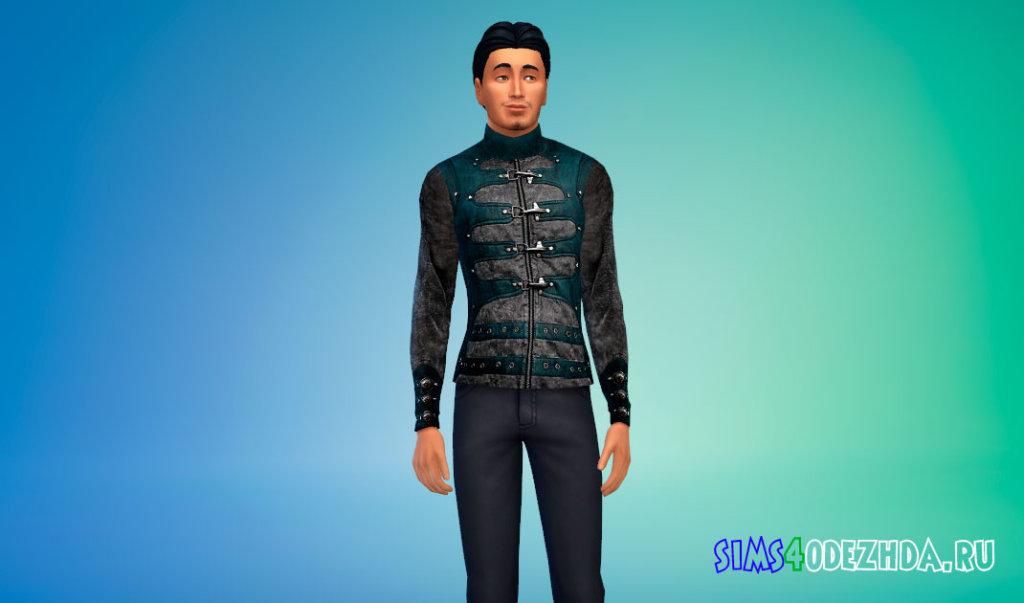 Крутая мужская куртка для Симс 4 - фото 2