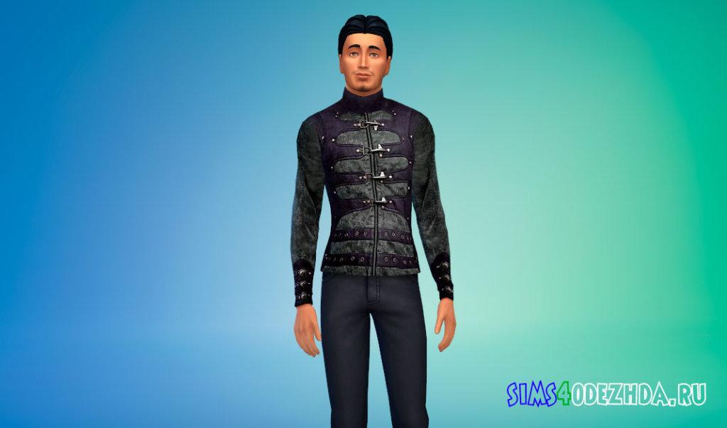 Крутая мужская куртка для Симс 4 - фото 3