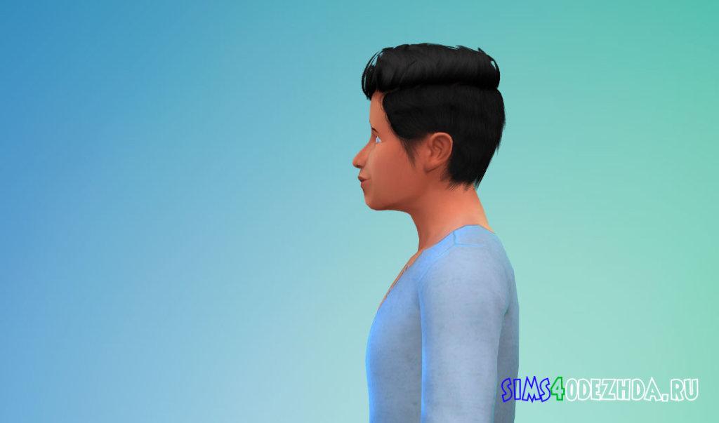 Стильная мужская прическа для Симс 4 - фото 3