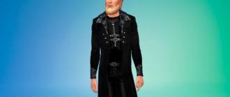 Стильное мужское пальто для Симс 4 - фото 1