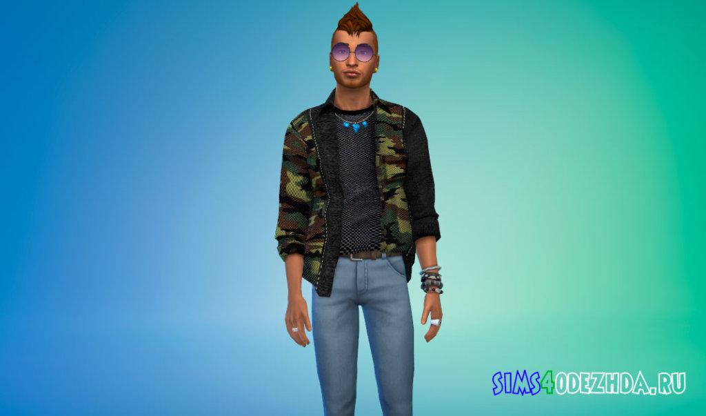 Стильные мужские рубашки для Симс 4 - фото 3