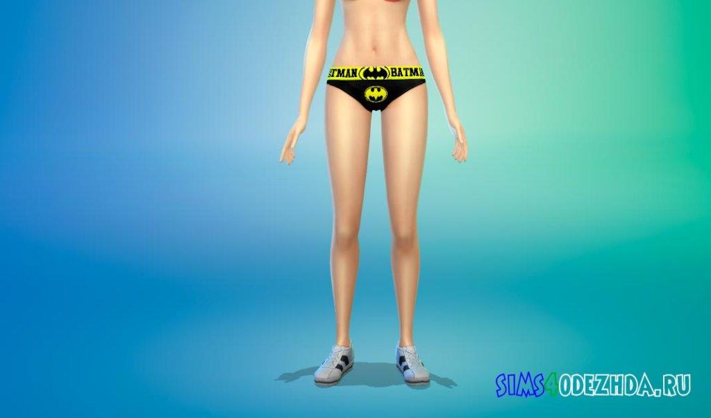 Супергеройское белье для женщин для Симс 4 - фото 3