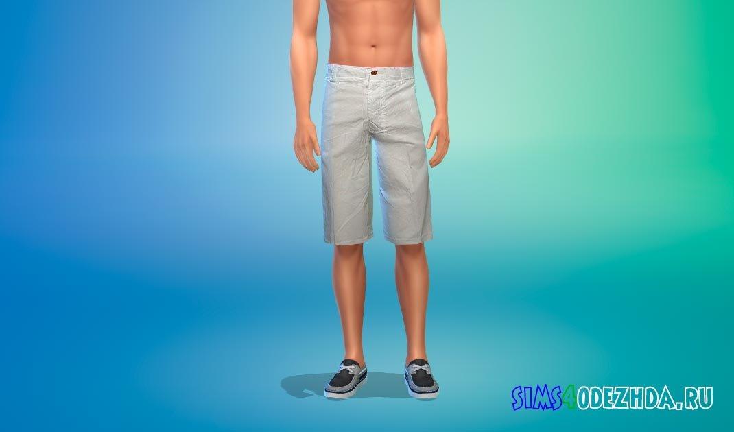 Хлопковые шорты для Симс 4 - фото 1