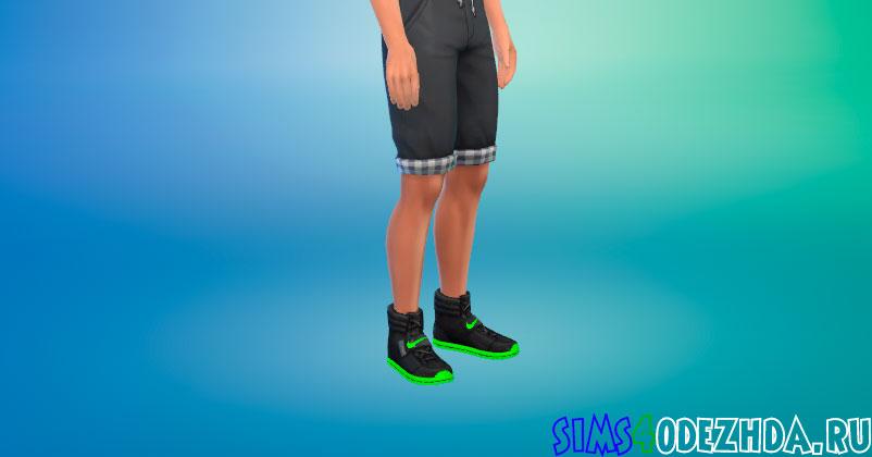 Высокие кеды Nike для Симс 4 - фото 1