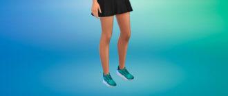 Женские спортивные кроссовки для Симс 4 - фото 1