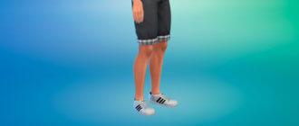 Мужские кроссовки от Адидас для Симс 4 - фото 1