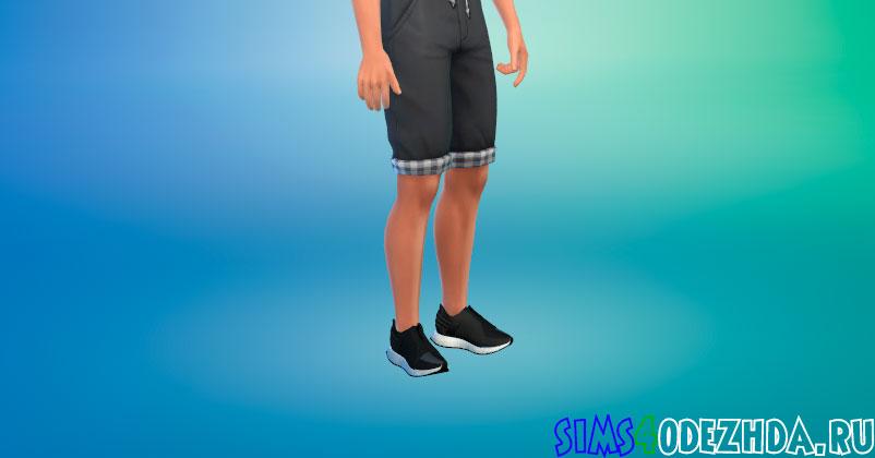Стильные кроссовки для мужчин для Симс 4 - фото 1