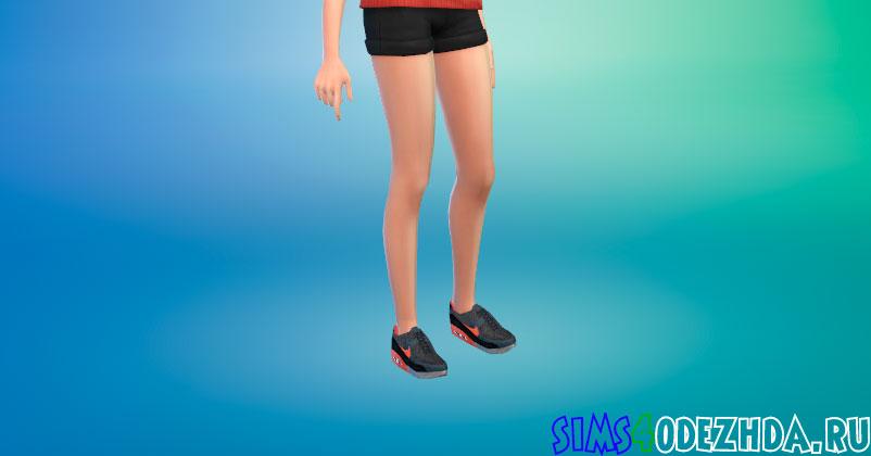 Кроссовки Nike Air Max для женщин для Симс 4 - фото 1