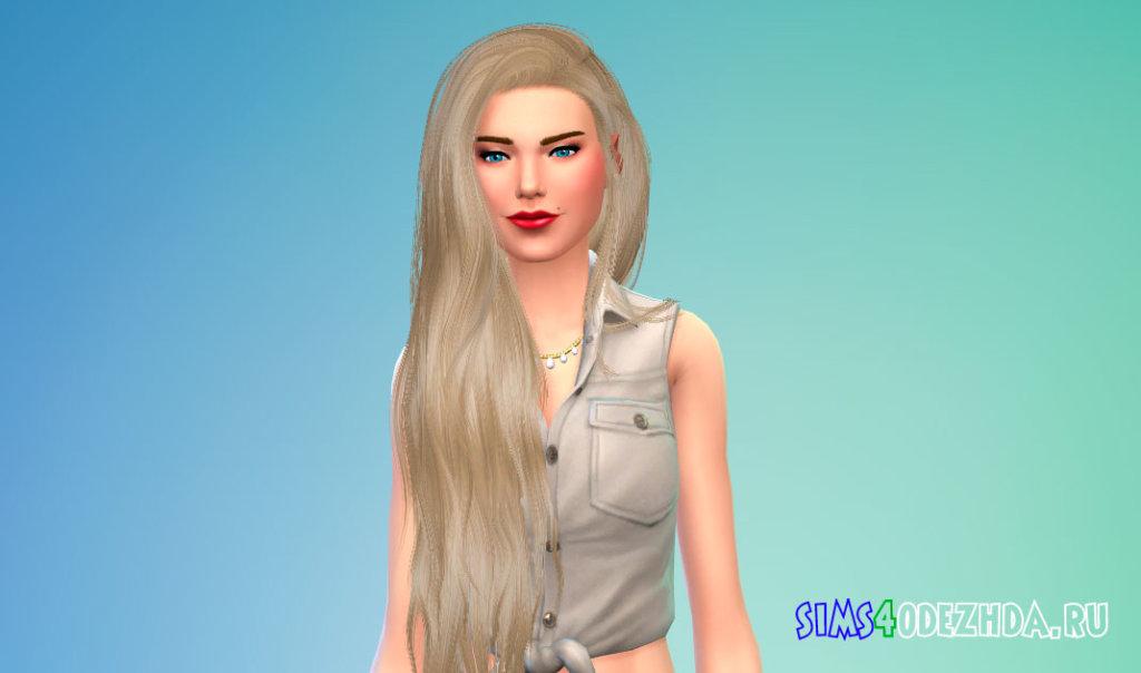 Пак с стильными женскими волосами для Симс 4 - фото 1