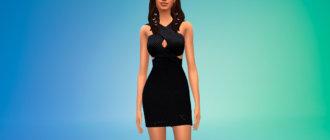 Платье из новой коллекции Кайли Дженнер для Симс 4 - фото 1