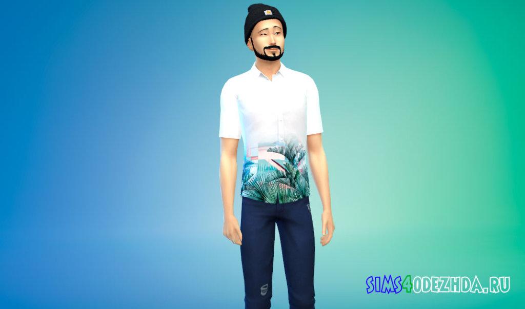 Рубашки BTS FIRE MV для Симс 4 - фото 2