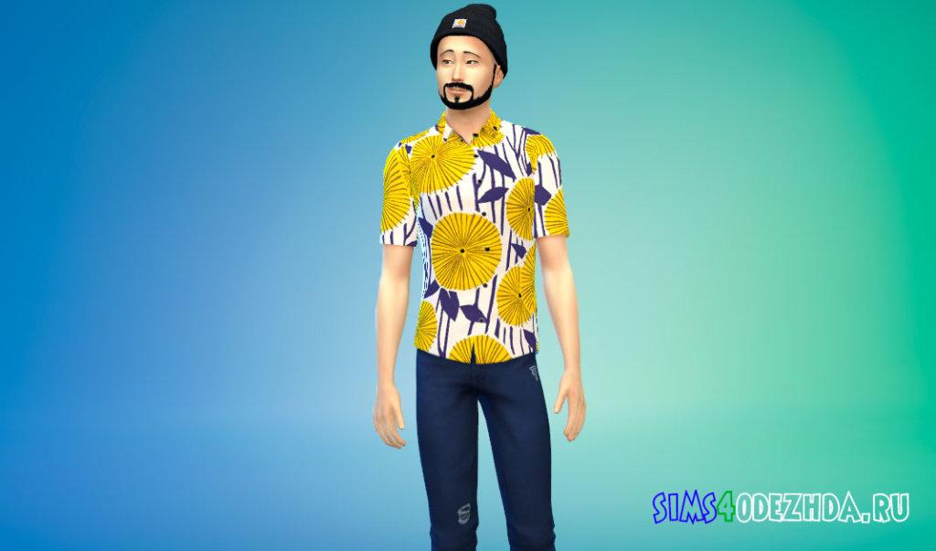 Рубашки BTS FIRE MV для Симс 4 - фото 3