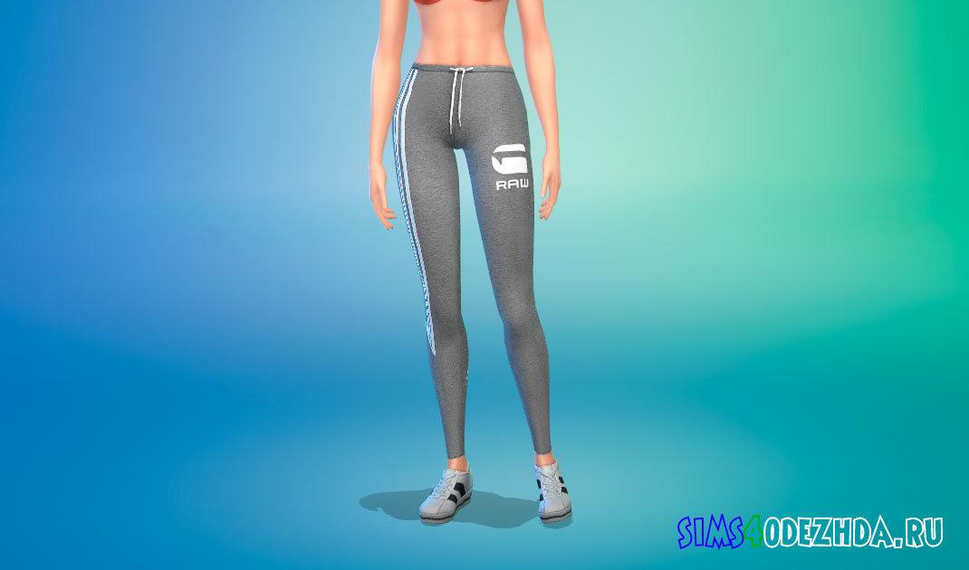 Спортивные штаны для ваших симок для Симс 4 - фото 1