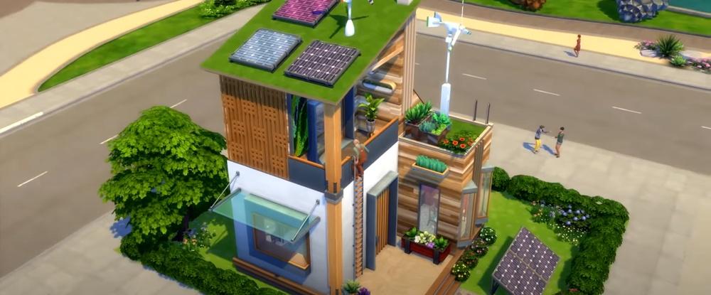 В The Sims 4 появятся вертикальные лестницы