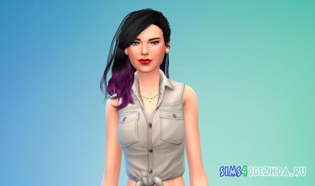Волосы Daughter от Stealthic для Симс 4 - фото 2