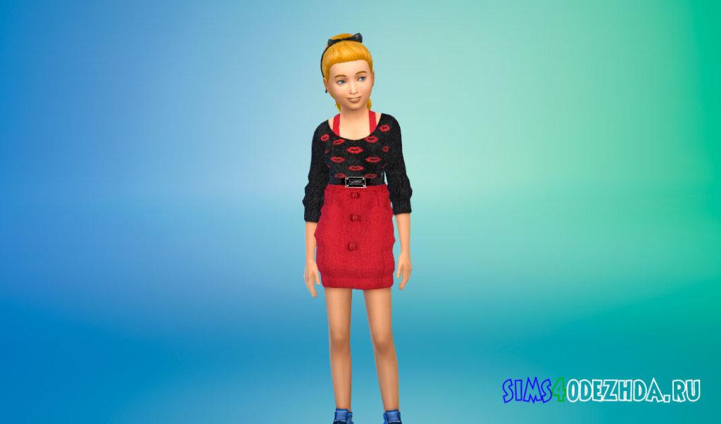 Шикарные платья для девочек для Симс 4 - фото 2