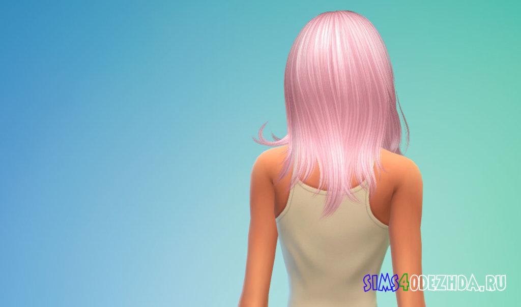 Женские волосы Kylie от Nightcrawler для Симс 4 - фото 3