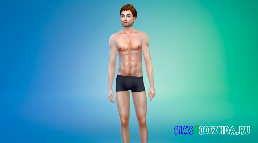 Естественный скинтон для мужчин для Симс 4 - фото 1