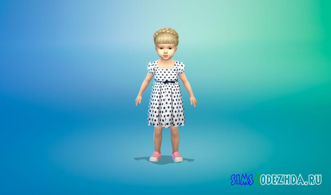 Коллекция платьев для малышей Симс 4 - фото 1