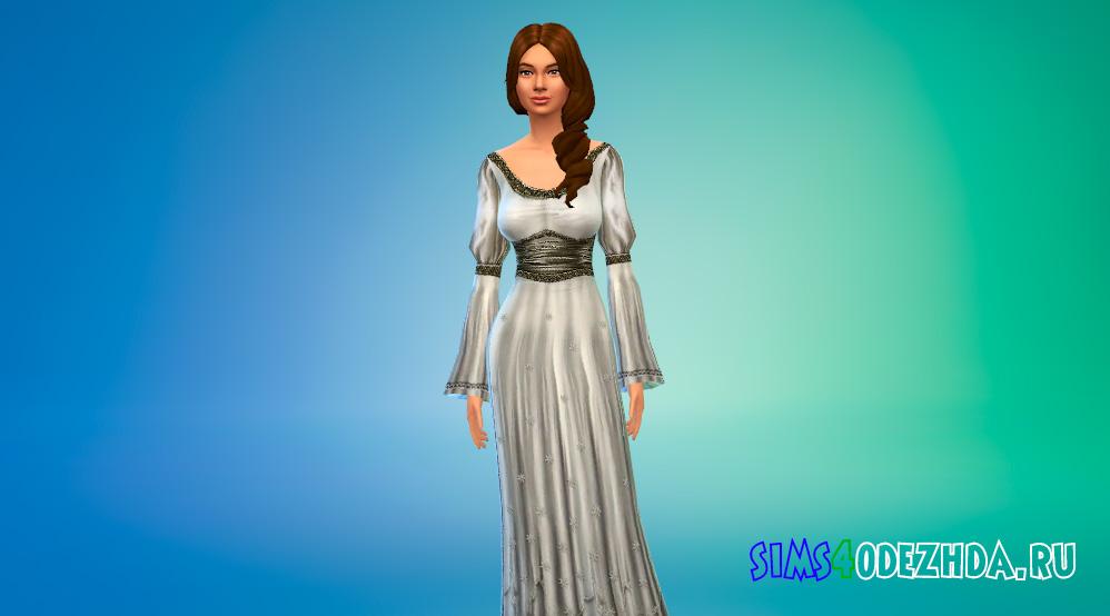 Платья из средневековья для Симс 4 - фото 2
