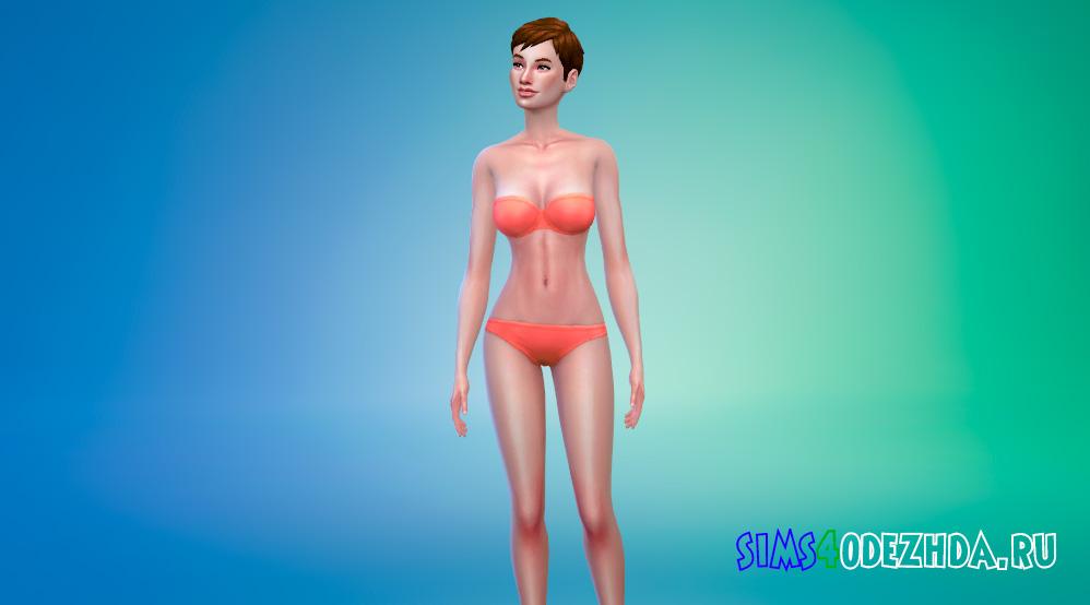 Румяный скин для женщин для Симс 4 - фото 1