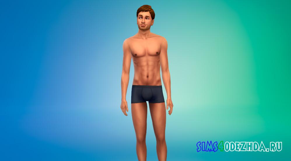 Загорелые скинтоны для мужчин для Симс 4 - фото 1