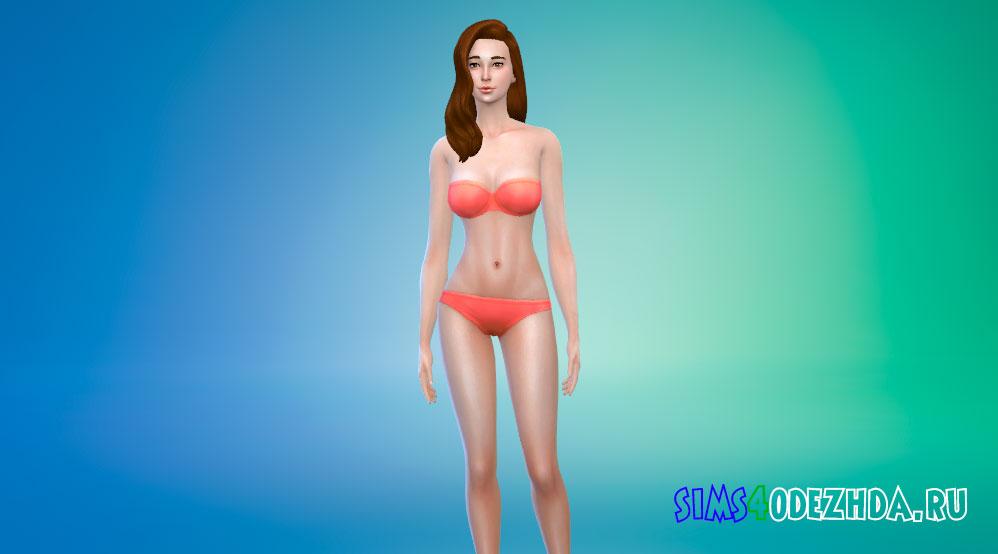 Азиатский скинтон для женщин Симс 4 - фото 1