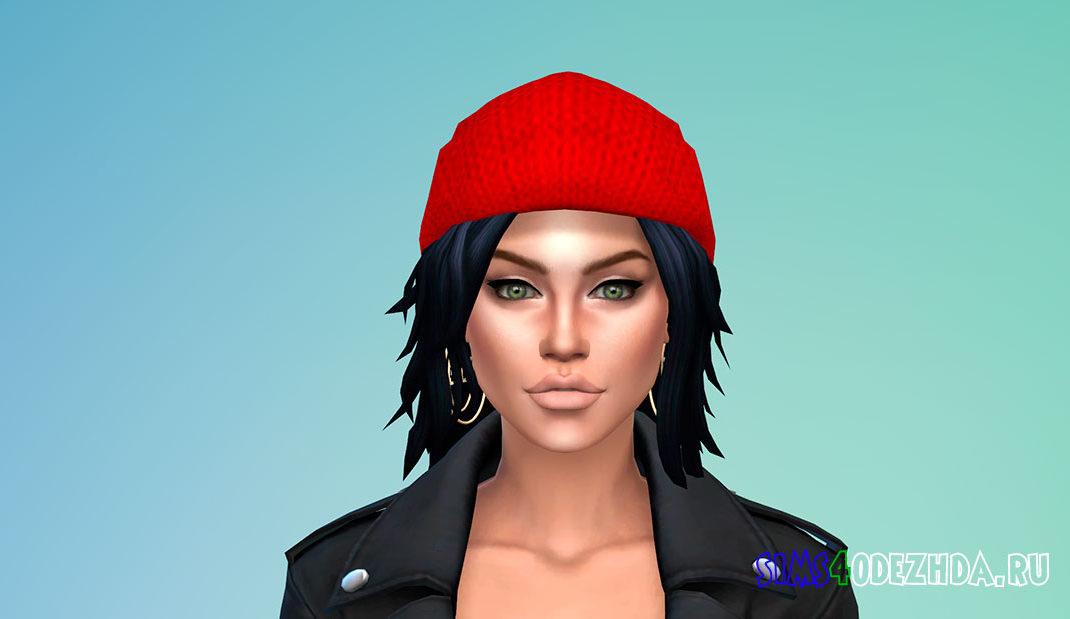 Красивая зимняя шапка для женщин для Симс 4 - фото 1