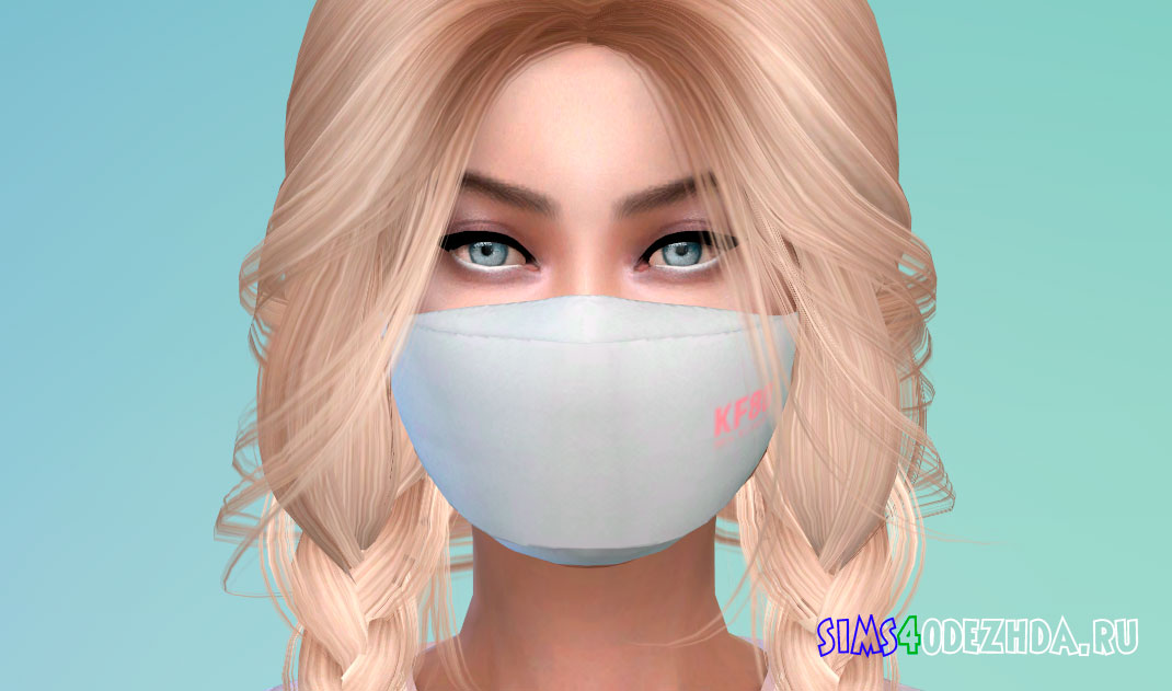 Крутая защитная маска для Симс 4 - фото 1